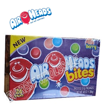 Airheads Bites * Berries * 24 Ct
