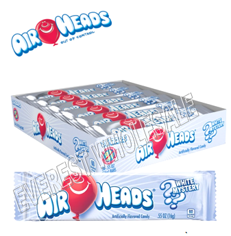 Airheads Singles 0.55 oz 36 ct * White Mystery *