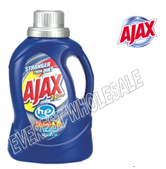 Ajax Liquid Laundry Detergent 50 fl oz * Stain Fighter * 6 pcs