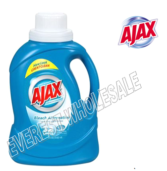 Ajax Liquid Laundry Detergent 50 fl oz * Bleach Alternative * 6 pcs