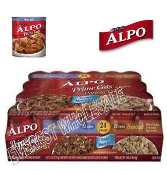Alpo Prime Cuts Dog Food 13.2 oz * 24 Cans