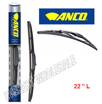 "ANCO Windshield Wiper Blade 22"" L * 10 pcs / Box"