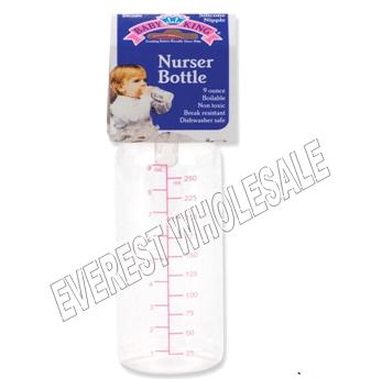 BK Baby Bottle 9 fl oz * Clear * 6 pcs