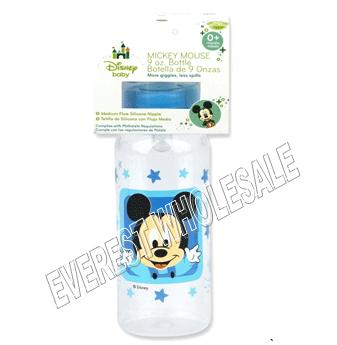 BK Baby Bottle 9 fl oz * Mickey Mouse * 6 pcs