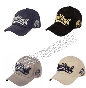 Baseball Cap Vintage Cotton With New York Logo * 6 pcs