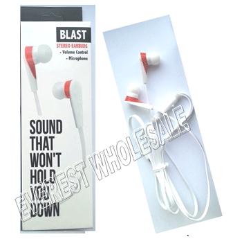Blast Stereo Earphones * White