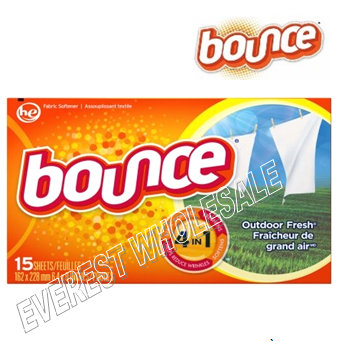 Bounce Dry Sheet 15 ct box * 15 box / case