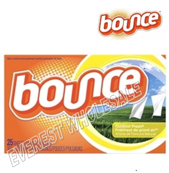 Bounce Dry Sheet 25 ct box * 15 box / case