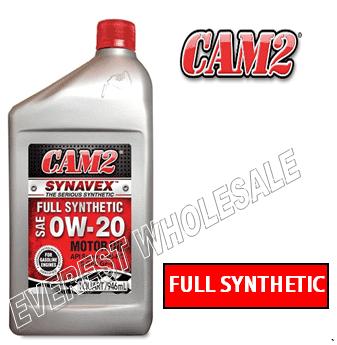 Cam2 Synthetic Motor Oil 1 Qt * 0W-20 * 6 pcs