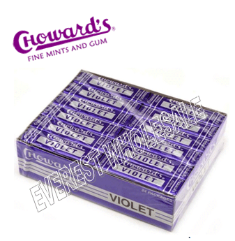 Chowards Violet Mints 15 pcs * 24 packs