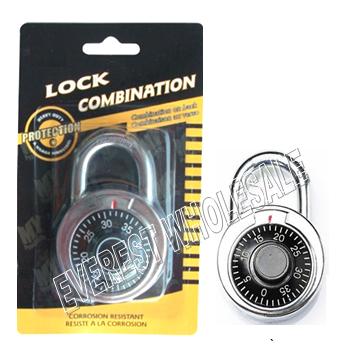 Combination Lock * 6 pcs