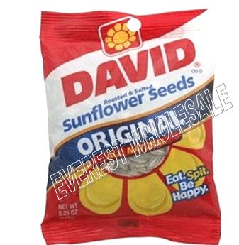 David Sunflower Seeds * Original * 5.25 Oz * 12 pcs