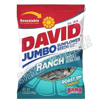 David Sunflower Seeds * Ranch * 5.25 Oz * 12 pcs