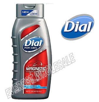 Dial Body Wash For Men 21 fl oz * Magnetic * 6 pcs