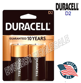 Duracell Battery D 2 * 12 pcs / Box
