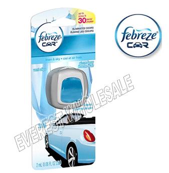 Febreze Car Vent Clip * Linen & Sky * 2 ml / 4 pcs