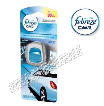Febreze Car Vent Clip * New Car Scent * 2 ml / 4 pcs