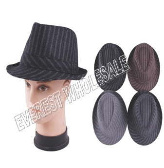 Fedaro Hat For Men Lining * Assorted Colors * 6 pcs