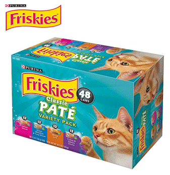 Purina Friskies Variety Pack * Classic Pate * 5.5 oz / 48 ct