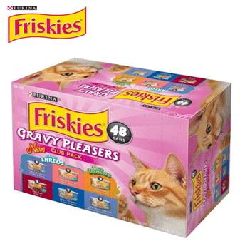 Purina Friskies Variety Pack * Gravy Pleasers * 5.5 oz / 48 ct