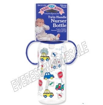 BK Baby Bottle 9 fl oz * With Handle * 6 pcs