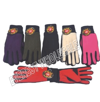 Insulated Winter Gloves for Women * Assorted Colors * 6 pcs