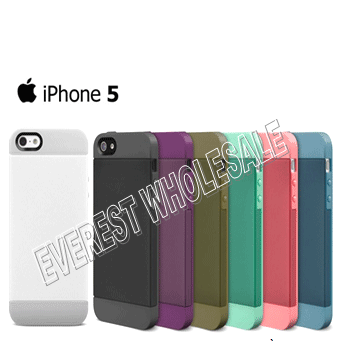 Hard Phone Covers for Iphone 5 * Assorted Colors * 12 pcs