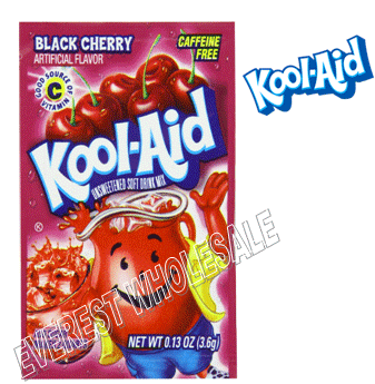 Kool Aid * Black Cherry * 48 count