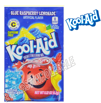 Kool Aid * Blue Raspberry * 48 count