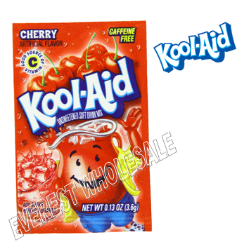 Kool Aid * Cherry * 48 count