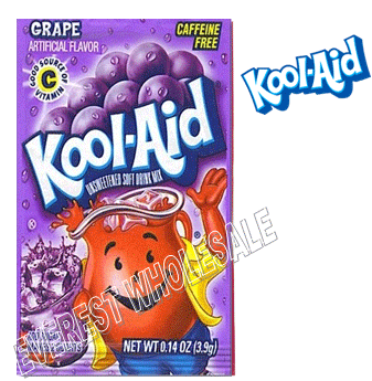 Kool Aid * Grape * 48 count