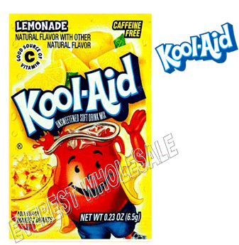 Kool Aid * Lemonade * 48 count
