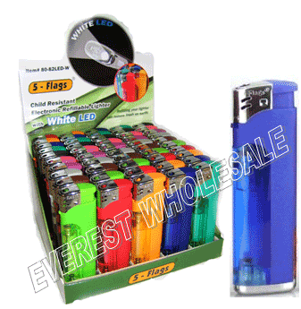 5 Flags Lighter & Flashlight 50 ct