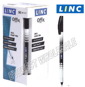 Linc Offix Ball Point Pen 50 Count * Black *