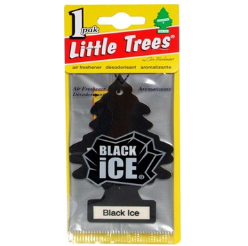 Little Trees Car Freshener * Black Ice * 1`s x 24 ct