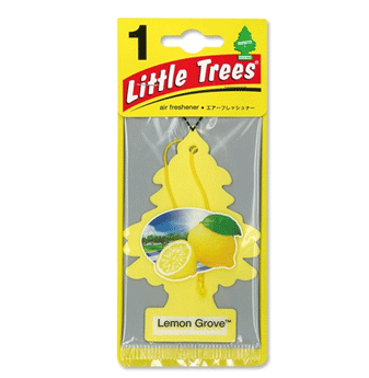 Little Trees Car Freshener * Lemon Grove * 1`s x 24 ct