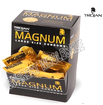 Trojan Magnum Regular Lose Box * 48 ct