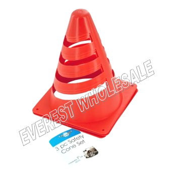 Mini Safety Cone with Set 3 different size * 6 Set