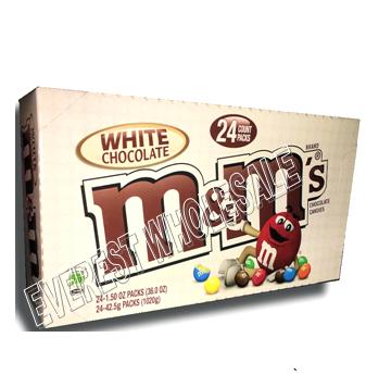 M & M White Chocolate * 24 ct