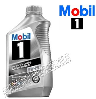 Mobil 1 Full Synthetic Motor Oil 1 Qt * 5W-20 * 6 pcs
