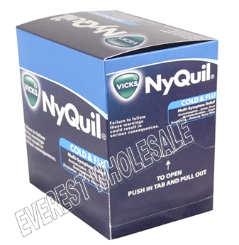 Nyquil Cold & Flu Caplets 25 x 2`s