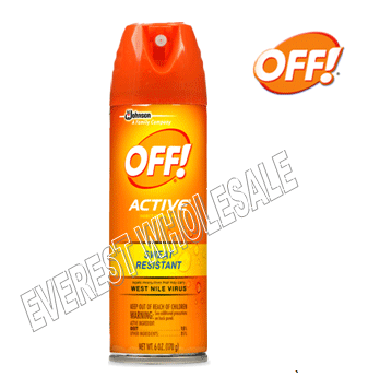 OFF Spray 6 fl oz * Active * 6 pcs