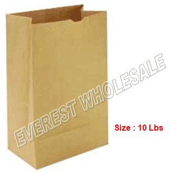 Kraft Paper Bag * # 10 * 500 ct pack
