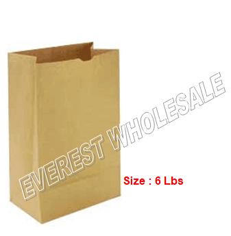 Kraft Paper Bag * # 6 * 500 ct pack