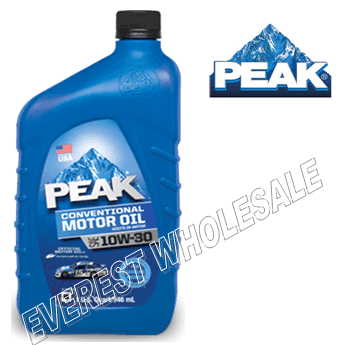 Peak Motor Oil 1 Qt * 10W-30 * 6 pcs