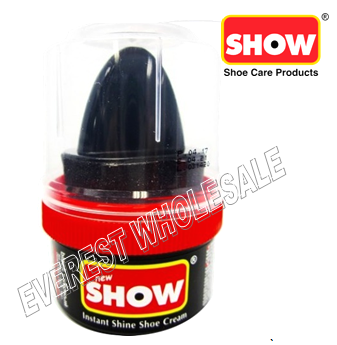 Show Shoe Cream 50 ml * Black * 6 pcs
