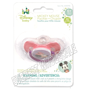 Silicone Pacifier * Mickey * 6 Pcs