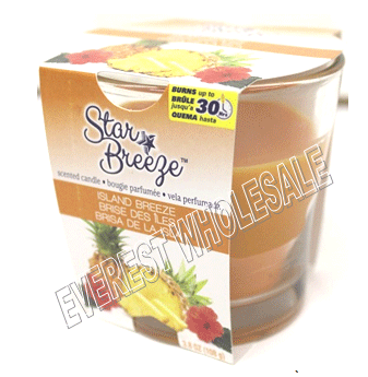 Star Breeze Candle 3.8 oz * Island Breeze * 6 Pcs