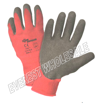 Working Glove Thermal * Red * 6 pcs