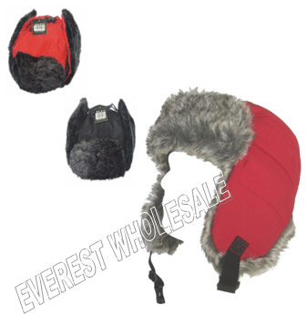 Trapper Troopper Knit Hat * Assorted Colors * 12 pcs